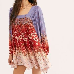NWOT Free People Night Combo Simple Thing Tunic